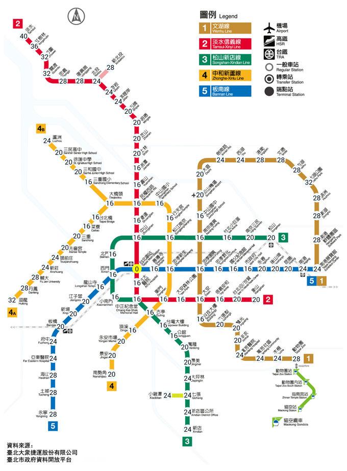 [App] 捷運路線超複雜?快安裝「台北捷運路線圖」讓你輕鬆算票價、估計車程時間!