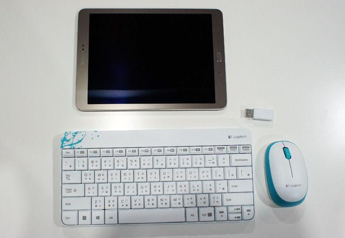 不想帶筆電出門?平板搭配鍵盤、滑鼠一樣能隨時辦公哦!