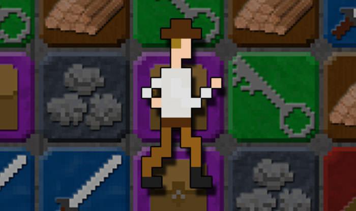 三消玩法結合RPG地城探險:8位元復古風格遊戲「10000000」讓人一玩再玩無法自拔!