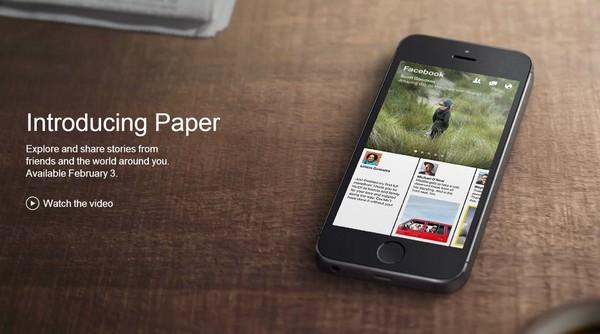 [App] 即將登場!閱讀臉書如同翻雜誌的新工具「Facebook Paper」!
