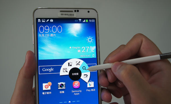 [Hands-on] 「以筆代手」的智慧型手機新思維-GALAXY Note 3實機評測心得!