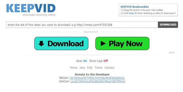 免裝軟體!用線上服務「KeepVid」輕鬆下載Youtube影片!