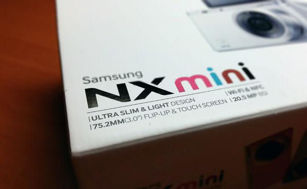 輕巧時尚.隨時連網分享-為妳量身打造的羽量級單眼「Samsung NX Mini」開箱與功能評測!